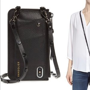 Bandolier Jane iPhone X/XS Leather Crossbody